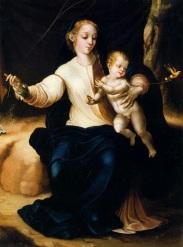 Luis de Morales - La Virgen del pajarito
