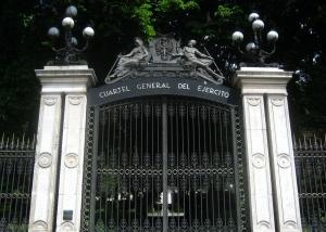 Palacio de Buenavista - Entrada a los jardines