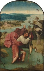 San Cristobal con el Niño Jesús a cuestas